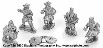 Old Glory Mongols in Europe 25mm Russian Town Militiamen Pack MINT