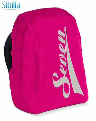 Coprizaino Seven Cover Backpack Copri Zaino Anti Pioggia Rosa 30914