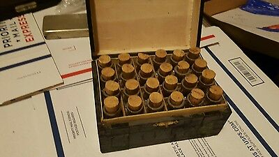 Complete  1870S 22 Vial Original Antique Otis Clapp & Sons Homeopathic Set