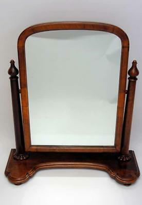 Very large  & good quality Victorian Mahogany  dressing table or swing mirror
