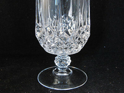 6 Cristal D'Arques Longchamp 24% Lead Crystal Wine Water Goblets Glasses 36 cl