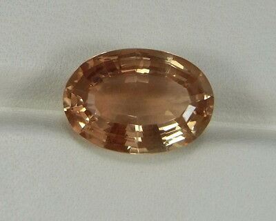 Sonnenstein 6,25 ct clean Oregon Sunstone Heliolite Plush    koxgems