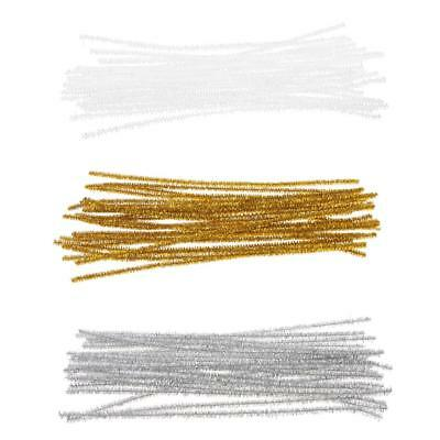 24pcs Metallic Twist Ties for Cello Candy Cookie Bags Sealing Gift Bag Packaging