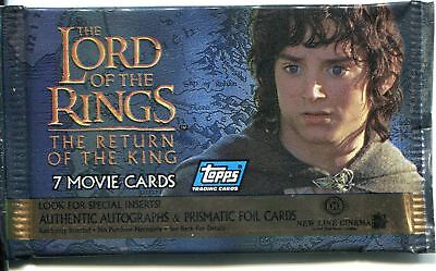 Lord Of The Rings The Return Of The King Factory Sealed Hobby Packet / Pack