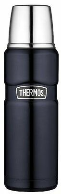 Thermos stainless king 16oz compact bottle midnight blue thermos flask coffee s