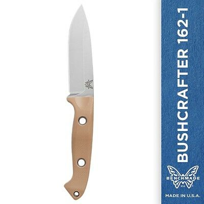 Benchmade Bushcrafter 162-1 Knife Drop-Point