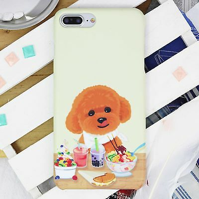 Toy Poodle Phone Case cover for iPhone 8 X 7 6S SE Plus Galaxy S8 S7 edge Note 5
