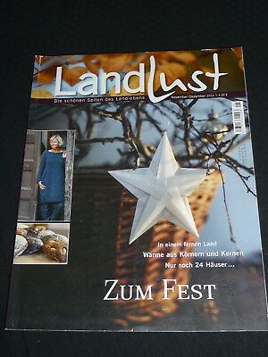 zeitschrift landlust november dezember 2012 eur 1 00. Black Bedroom Furniture Sets. Home Design Ideas