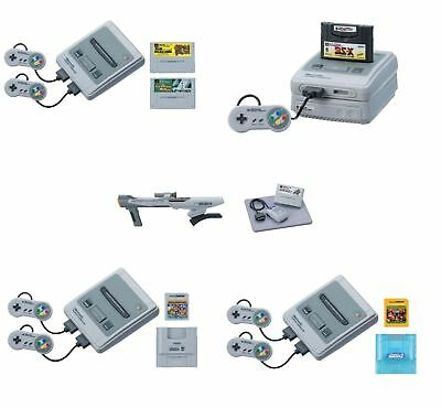 Takara Nintendo History Collection Super Famicom Set 5 Mini Figure (No Game) JP