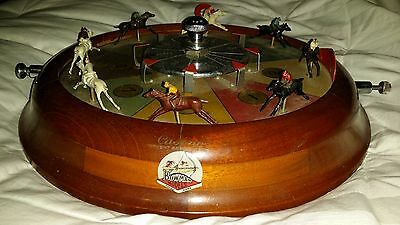 VINTAGE GAMBLING COLLECTION: Bowman Horse Roulette Wheel, GO BABY, GO!!!