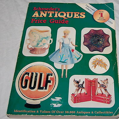 Schroeders Antiques Price Guide Sharon Huxford 1996 Book