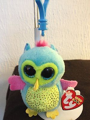 368aa5d0d60 Ty Beanie Boo Boos 2013 OPAL the Owl Key Clip Justice Exclusive MWMT FREE  Ship!