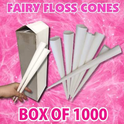 Fairy Floss Paper Cones Cotton Candy Paper Cones Stick Suit All machines