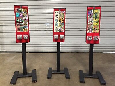 Tattoo Sticker bulk vending machine candy & toy route business Pokemon NFL Cards
