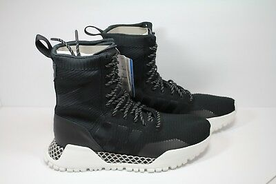 competitive price f3945 2cd4e ADIDAS MENS AF 1.3 PK Boots Primeknit Black White BY9781