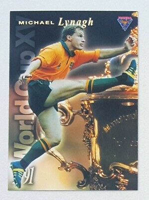 1995 Futera Rugby Union World Cup XV insert card #WC10 Michael Lynagh