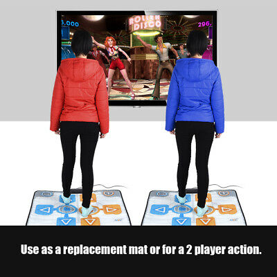 2018 Non-Slip Party 2 Person Dancing Pad Mat for Nintendo Wii Console Games CT