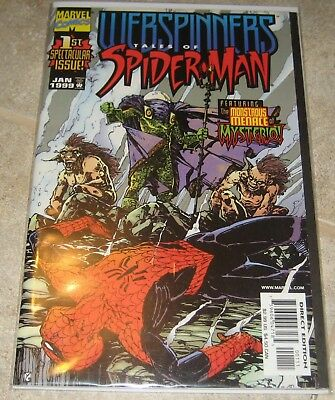 Webspinners Tales of Spider-man #1 VF/NM Marvel Comics Spiderman