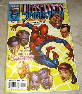 Webspinners Tales of Spider-man #7 VF/NM Marvel Comics Spiderman