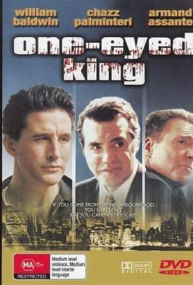 One Eyed King William Baldwin new region 4 dvd stock Perth