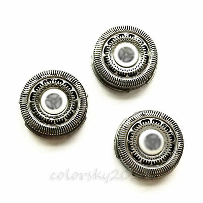 3 X Replacement Shaver Head For Philips RQ12 Series 9000/7000 Shaver SH90 / SH70
