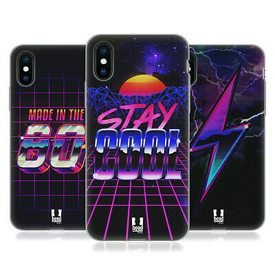 HEAD CASE DESIGNS 80'S RETRO FUTURISM SOFT GEL CASE FOR APPLE iPHONE PHONES