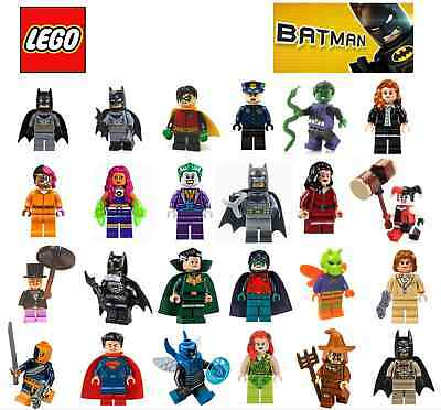LEGO MINIFIGURE From Batman Sets - All New - Includes Robin ...