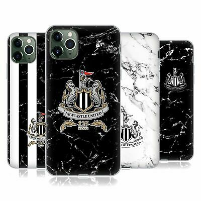 NEWCASTLE UNITED FC NUFC 2017/18 MARBLE SOFT GEL CASE FOR APPLE iPHONE PHONES