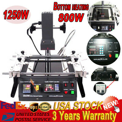 IR6500 BGA Rework Station ACHI Welder Infrared SOLDERING TECH For Xbox360,PS3