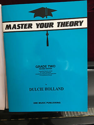 Master Your Theory Grade 2 Book by Dulcie Holland *Latest Edition* Two AMEB