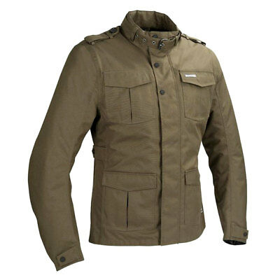 Bering Norris Kaki Motorcycle Motorbike Waterproof Touring Jacket | All Sizes