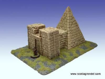 Scotia Grendel Historical Mini Resin 25mm Nubian Pyramid Box SW