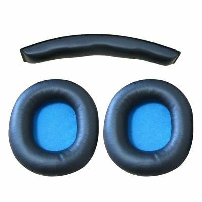 New Replacement Earpads Ear Pad With Head Cushion For Sennheiser HD8 HD 8 D N1Z1