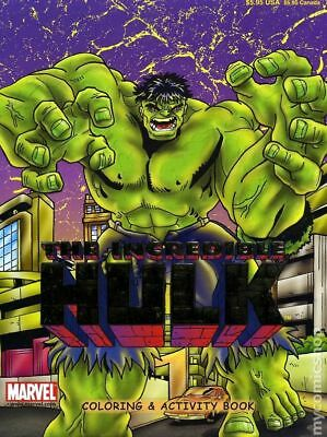 Incredible Hulk Color and Activity Book SC #1-1ST 2002 FN