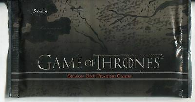 Game Of Thrones Season 1 Factory Sealed Hobby Packet / Pack