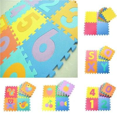 Kids Baby Boys Girls Funny Foam Floor Soft Puzzle Play Mat Crawling Carpet Decor