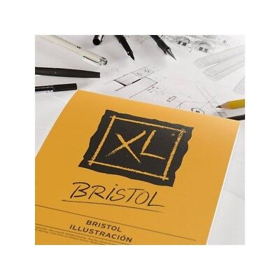 Canson Bristol XL Illustration Paper Pad 50 A4 Sheets 180 gsm Very Smooth