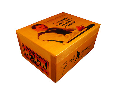 Freddie Mercury QUEEN figure logo, AUTOGRAPHED Box, Poster, Quote, Wembley Print