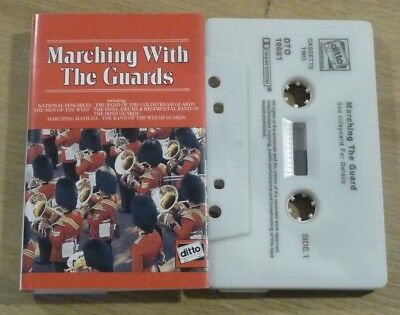 Cassette K7 Tape Scottish Songs Marching With The Guards Clitto DTO 10081B