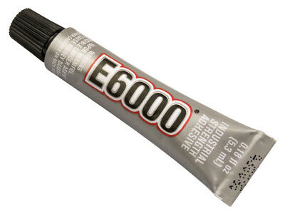 E6000 Industrial Strength Clear Glue 5.3ml Multi-Purpose Adhesive Gen From USA