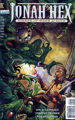 Jonah Hex Riders of the Worm and Such #5 1995 FN Stock Image