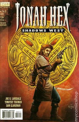 Jonah Hex Shadows West #3 1999 VF Stock Image