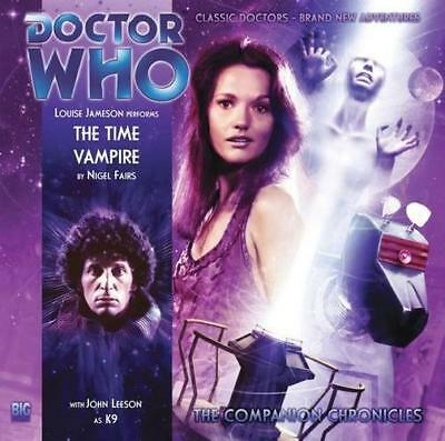Dr Who the Time Vampire CD (Dr Who Big Finish Companion) (Doctor Who: The Compan
