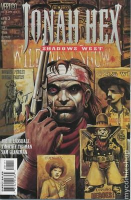 Jonah Hex Shadows West #1 1999 VG Stock Image Low Grade