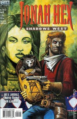 Jonah Hex Shadows West #2 1999 VG Stock Image Low Grade