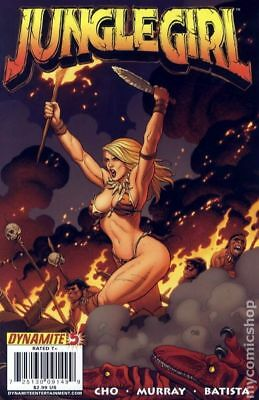 Jungle Girl (Dynamite Entertainment) #5A 2008 FN Stock Image