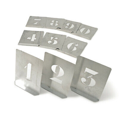 Kennedy 200mm (set OF 10) Zinc Stencil Figures