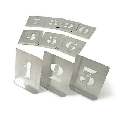 Kennedy 150mm (set OF 10) Zinc Stencil Figures