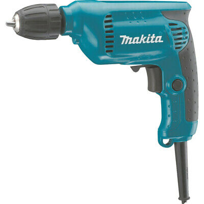 Makita 6413/1 - 10Mm 450W Compact Rotary Drill With 10Mm Keyless Chuck - 110V