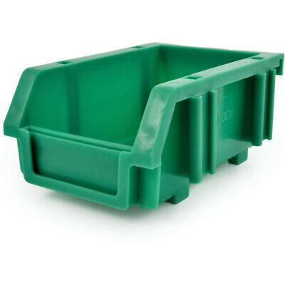 Matlock Mtl0 Plastic Storage Bin Green - Pack Of 10
